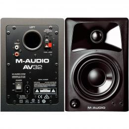 M-Audio AV32 - Monitores referencia escuchas estudio
