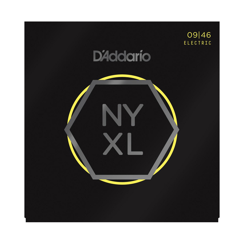 D'Addario NYXL0946 Super Light Top-Regular Bottom