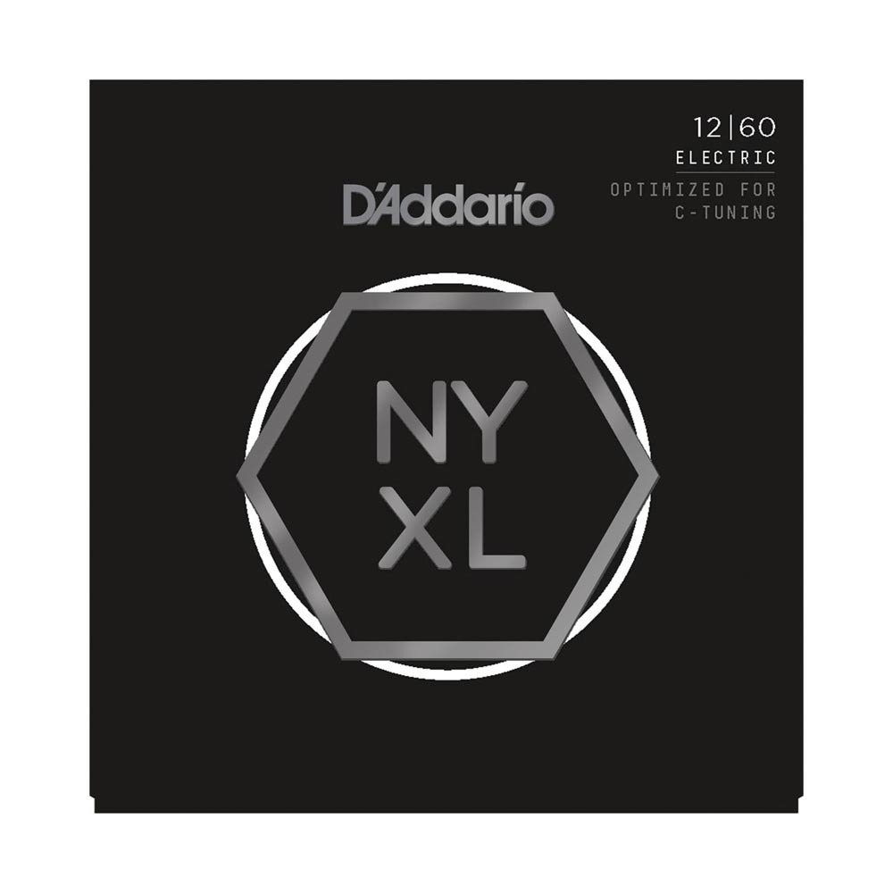 D'Addario NYXL1260 Electric C-Tuning