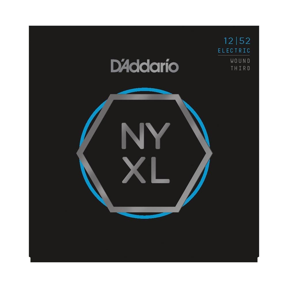 D'Addario NYXL1252W Electric Wound Third