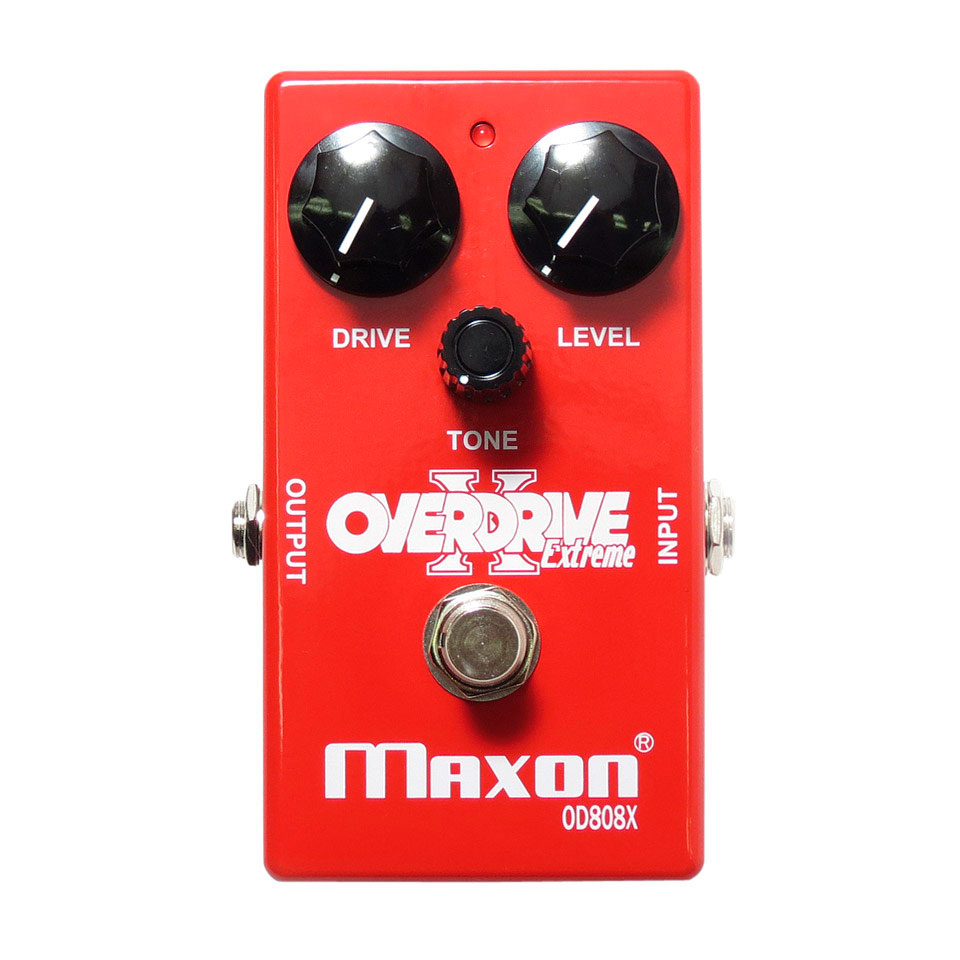 Maxon OD-808X Overdrive Extreme - Pedal Guitarra Eléctrica Booster