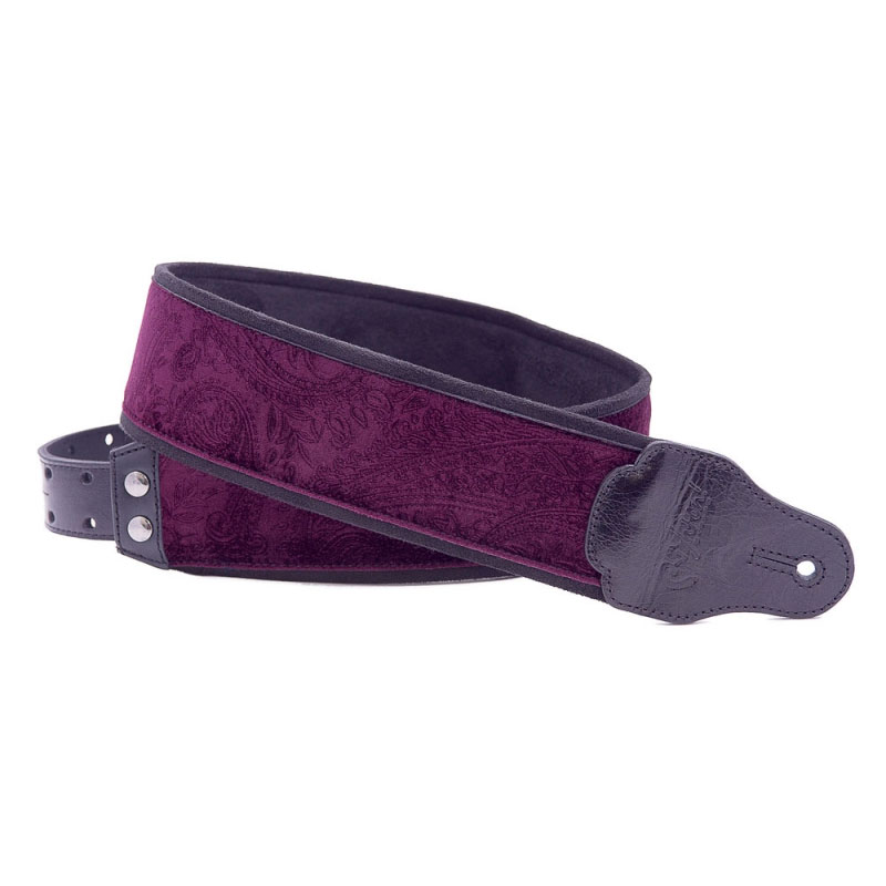Righton Straps Jazz Cashmere Purple - Correa artesana guitarra