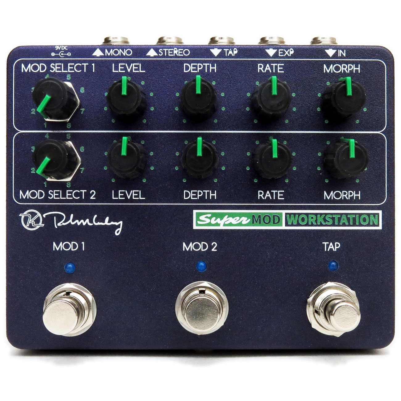 Keeley Super Mod Workstation - Pedal modulación guitarra