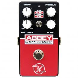 Keeley Abbey Chamber Verb - Pedal reverb guitarra eléctrica