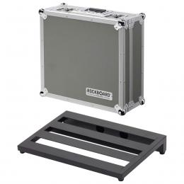 RockBoard Club Flight Case - Estuche para pedales de guitarra bajo