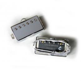 Lollar Pickups Imperial Low Wind Chrome 4C Set - Pastillas humbucker