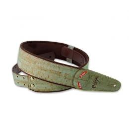 Righton Straps Mojo Cork Teal - Correa artesana guitarra