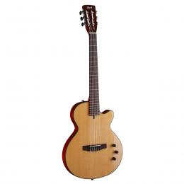 Cort Sunset Nylectric NAT - Guitarra cuerdas nylon electrificada