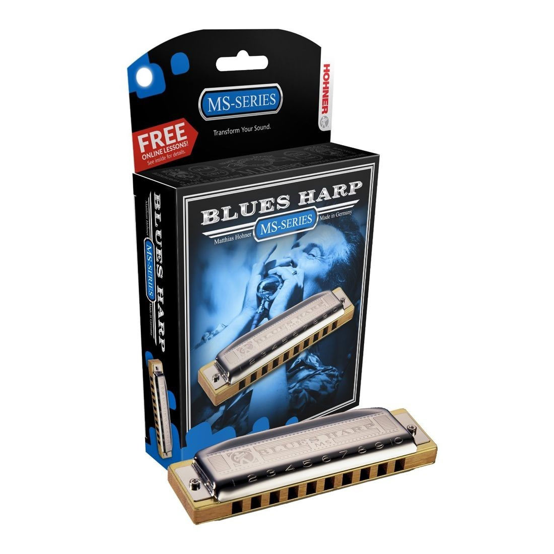 Hohner Blues Harp 532/20 G - Armónica blues