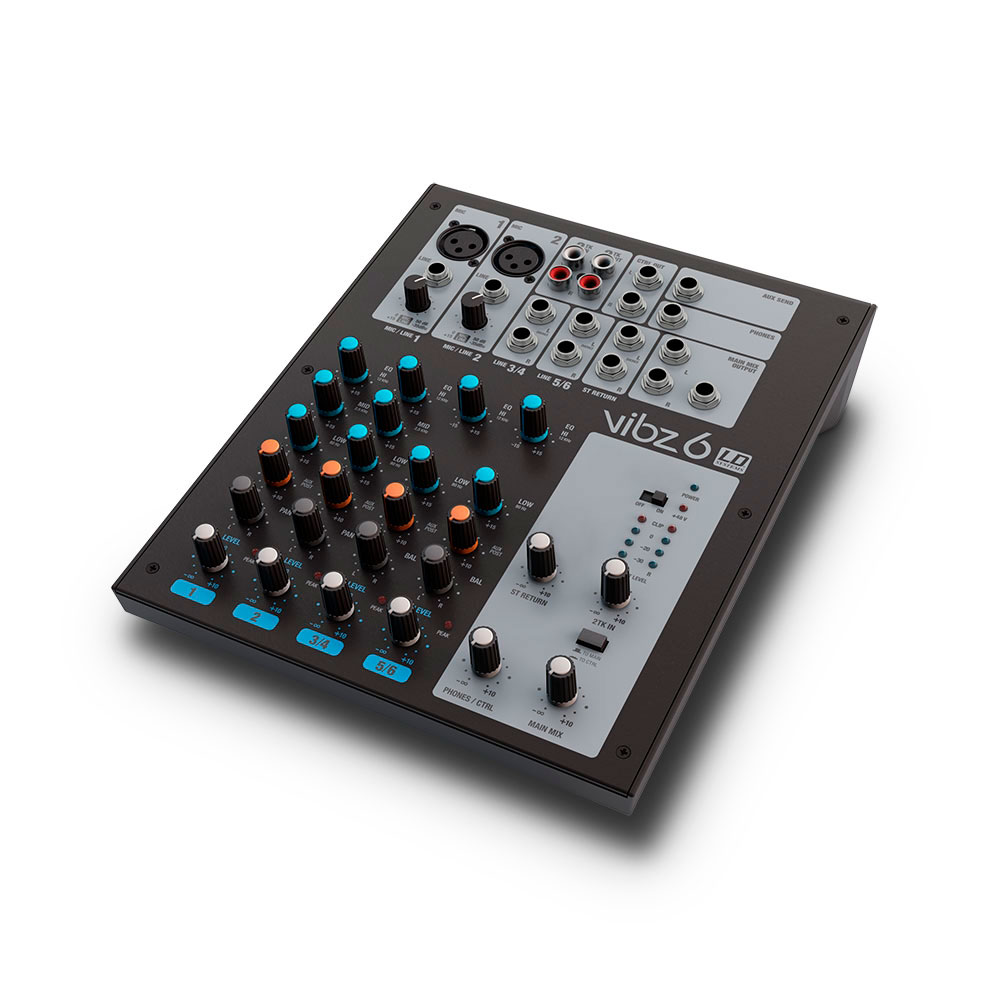 LD Systems VIBZ 6 - Mezclador analógico seis canales