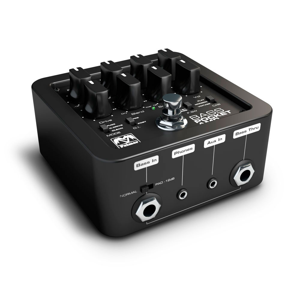 Palmer Pocket Amp Bass - Preamplificador portatil bajo