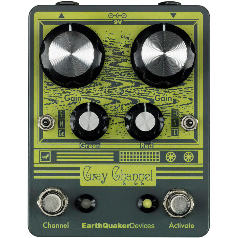 EarthQuaker Devices Gray Channel - Pedal overdrive guitarra