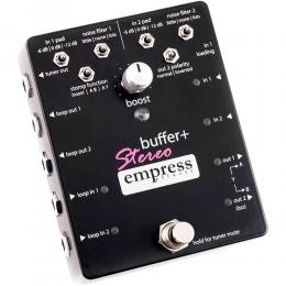 Empress Effects Buffer Plus Stereo - Pedal buffer boost incluido