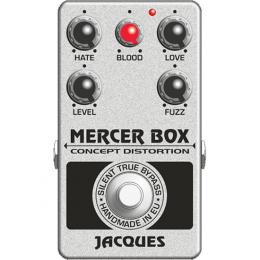 Jacques Mercer Box V3 - Pedal distorsión guitarra