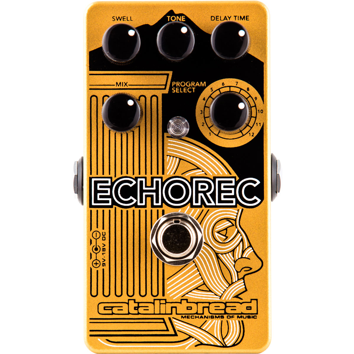 Catalinbread EchoRec - Pedal delay guitarra