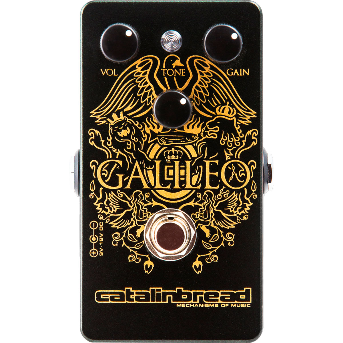Catalinbread Galileo mkII - Pedal overdrive guitarra