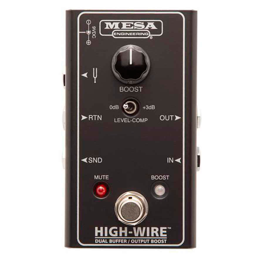 Mesa/Boogie High-Wire Dual Buffer/Output Boost - Buffer/Booster señal