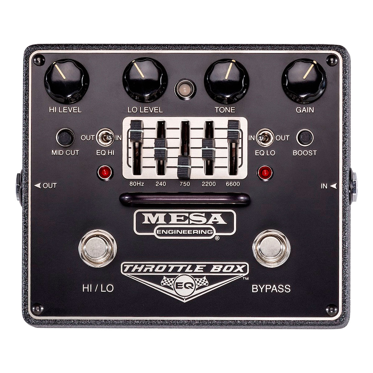 Mesa/Boogie Throttle Box EQ - Pedal efectos guitarra