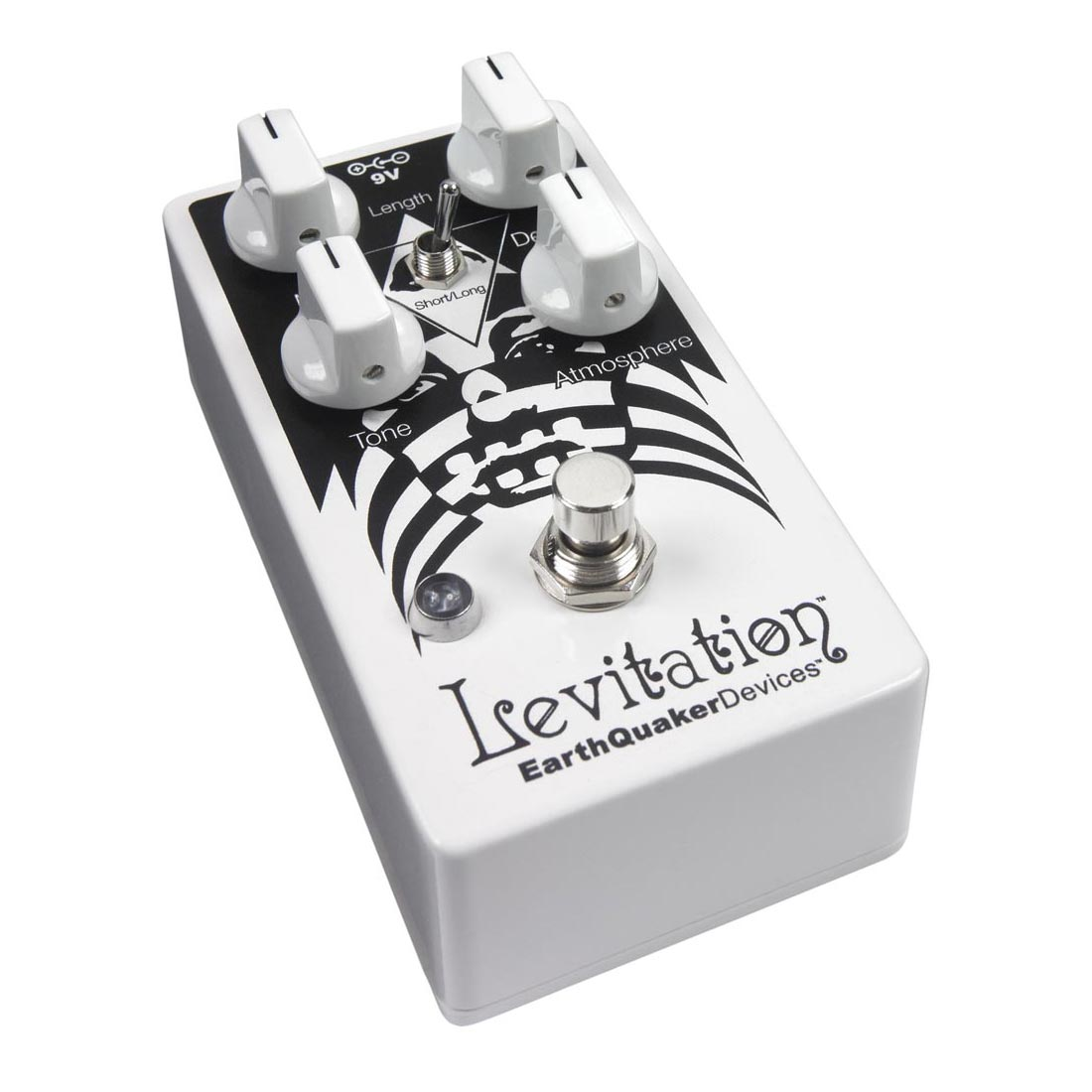EarthQuaker Devices Levitation V2 - Pedal reverb guitarra
