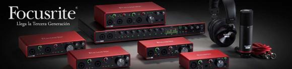 Interfaces audio Focusrite Scarlett 3rd Gen