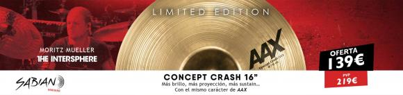 "Sabian AAX 16"" Concept Crash"